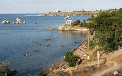 Пляж Молодежный, Керчь