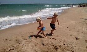 Отдых в Крыму с песчаным пляжем в Новоотрадном