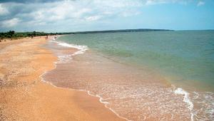 Отдых в Крыму - песчаный пляж
