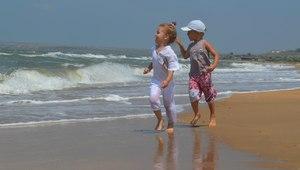 Песчаные пляжи Крыма для отдыха с детьми в Новоотрадном