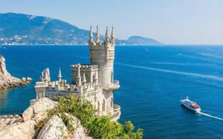 Турсезон в Крыму признан успешным — Ласточкино гнездо